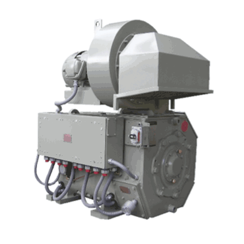 Wabtec Drill Motors 1085 HP Series Wound Motor