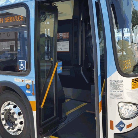 Wabtec Transit Bus Doors and Accessibility Door Panels