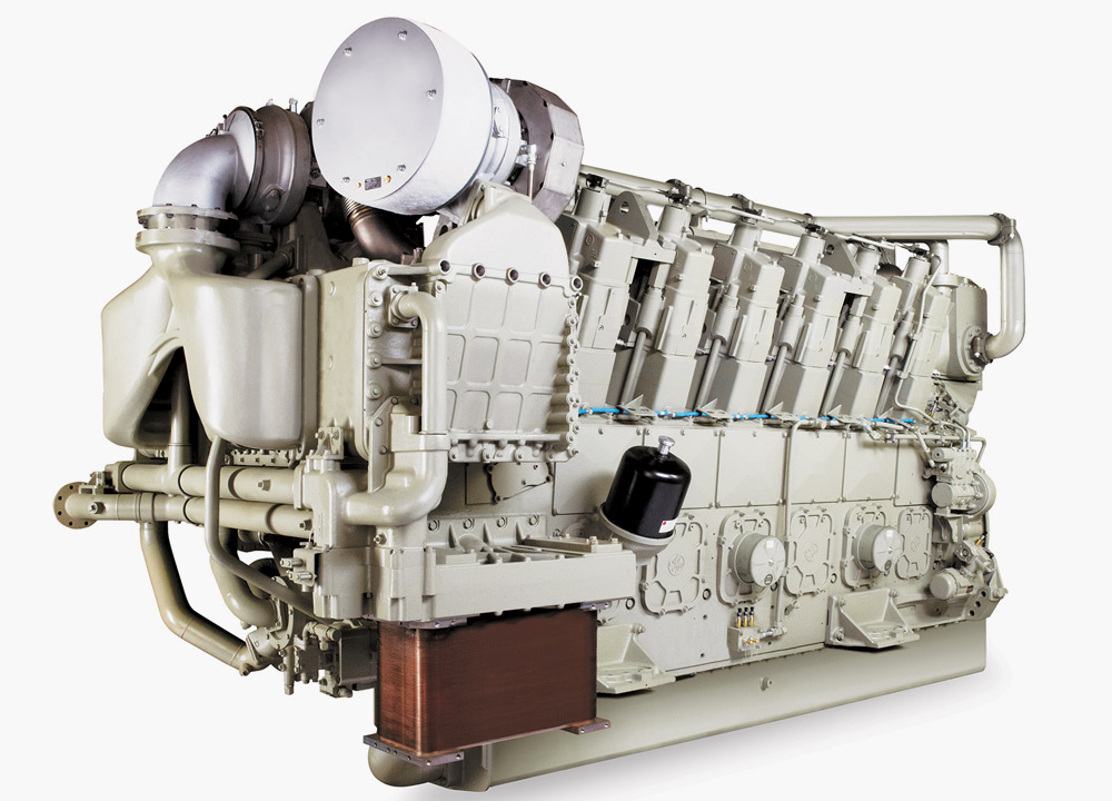Meet the cleanest Wabtec medium-speed engine Tier4 Diesel Engine