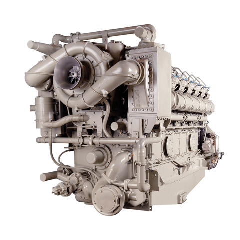Wabtec Maritime Solutions V228 Marine or Stationary Diesel Engine