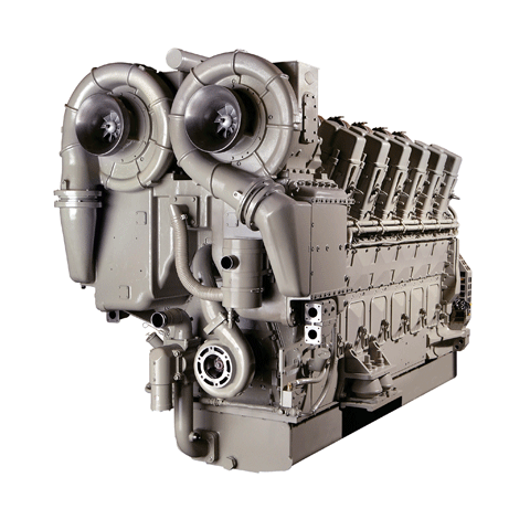 Wabtec Maritime Solutions V250 Engine
