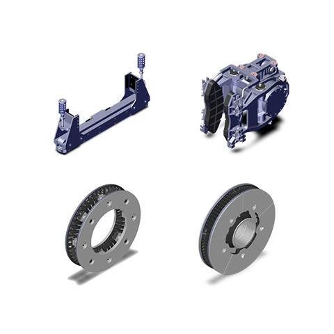 Transit Rail Bogie Brake Equipment