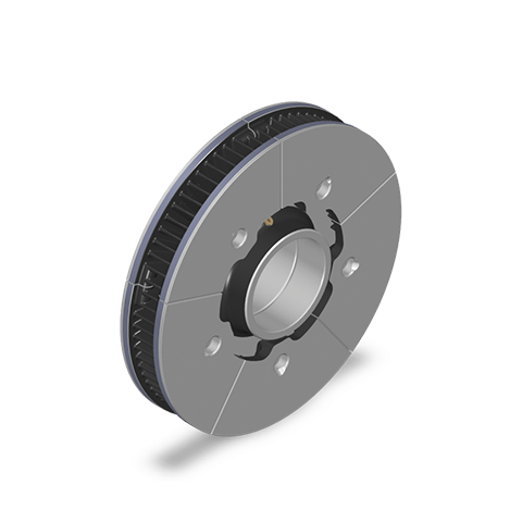 Segmented Axle Mounted Disc