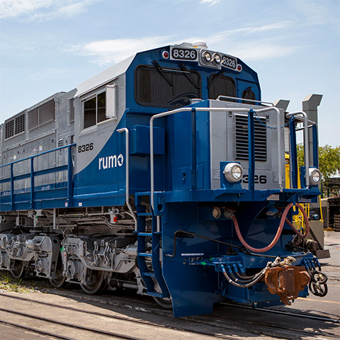 Wabtec ES43BBi Medium Weight Locomotive