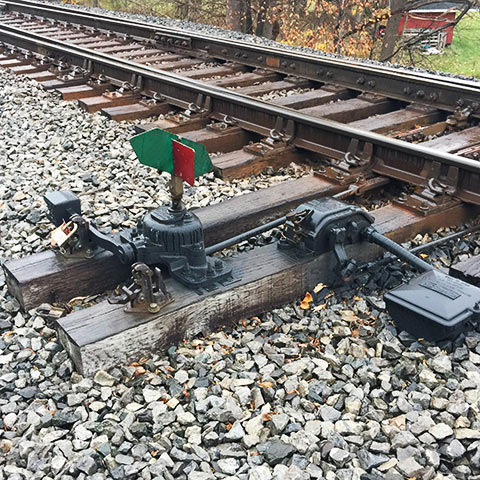 Wabtec Rail Infrastructure Track Products & Materials Manual Switch Stand