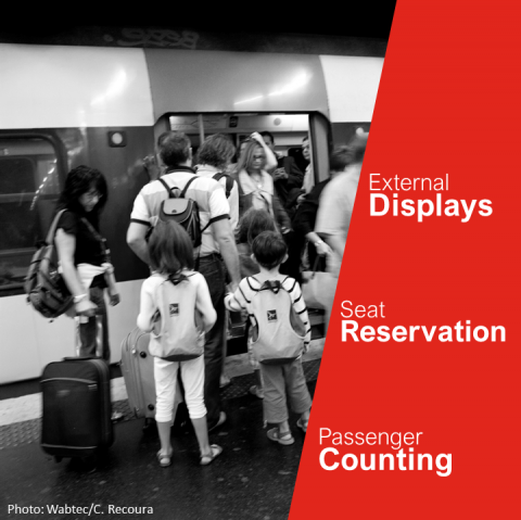 Wabtec Transit Rail Passenger Information Video Security